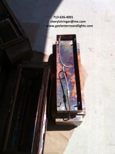 gas lantern installation connection 6