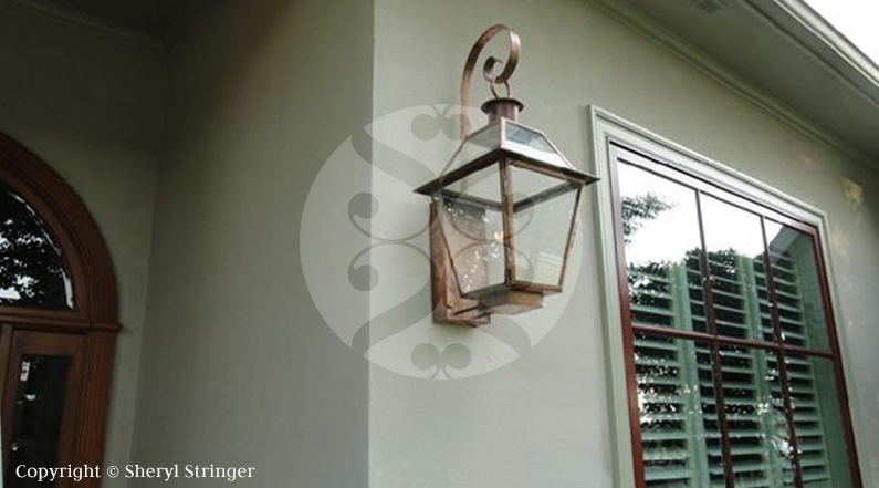 39 new orleans style gas lanterns gas lanterns and lights. Black Bedroom Furniture Sets. Home Design Ideas