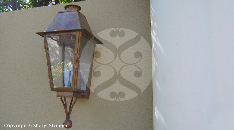 60 Plantation Lantern With Bottom Finial Gas Lanterns